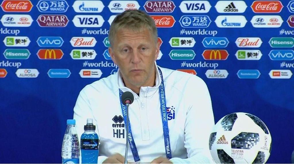 Pelatih Islandia Sebut Pemain Bertahannya Brilian