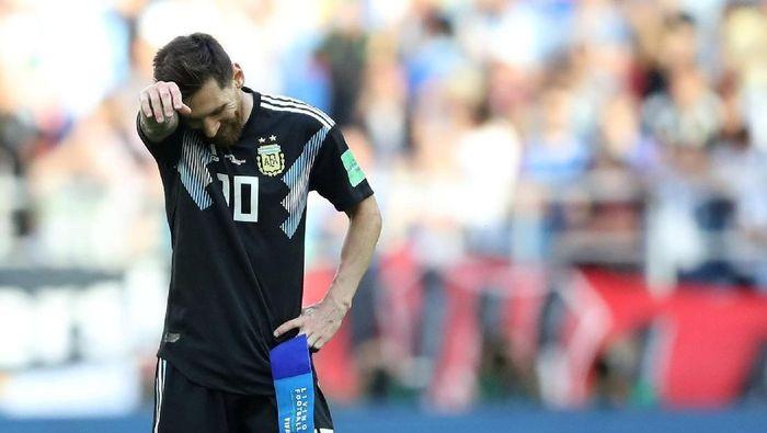 Lionel Messi kurang dapat dukungan di Timnas Argentina (Carl Recine/Reuters)