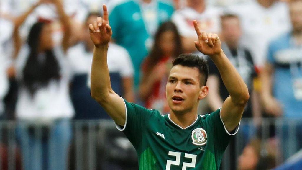 Video Gol Meksiko di Babak I yang Kejutkan Jerman
