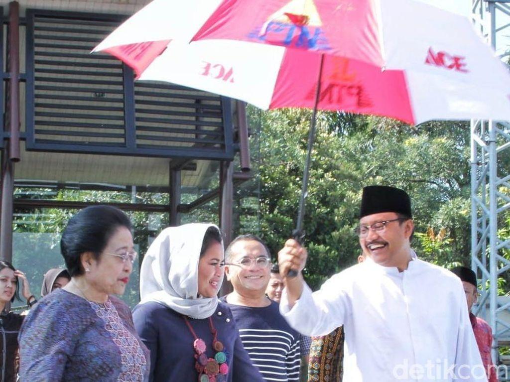 Bulan Bung Karno, Megawati Jadi Jurkam Gus Ipul-Puti di Madiun