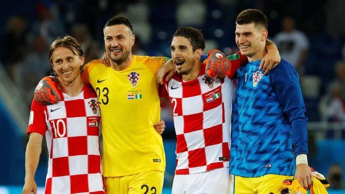 Timnas Kroasia di Piala Dunia 2018. (Foto: Fabrizio Bensch/Reuters)