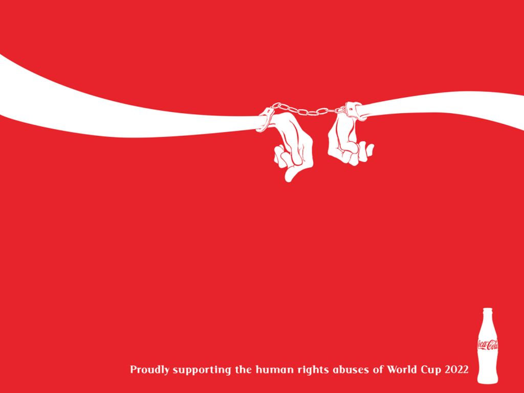 Logo Perusahaan Raksasa Ini Jadi Sentilan Buat Piala Dunia 2022