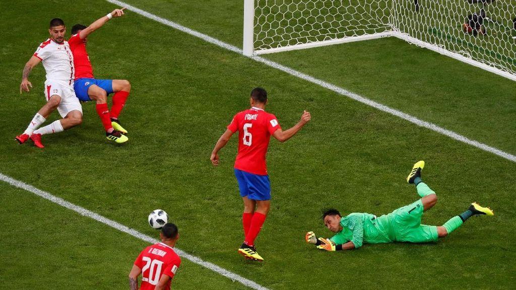 Babak I: Kosta Rika vs Serbia 0-0