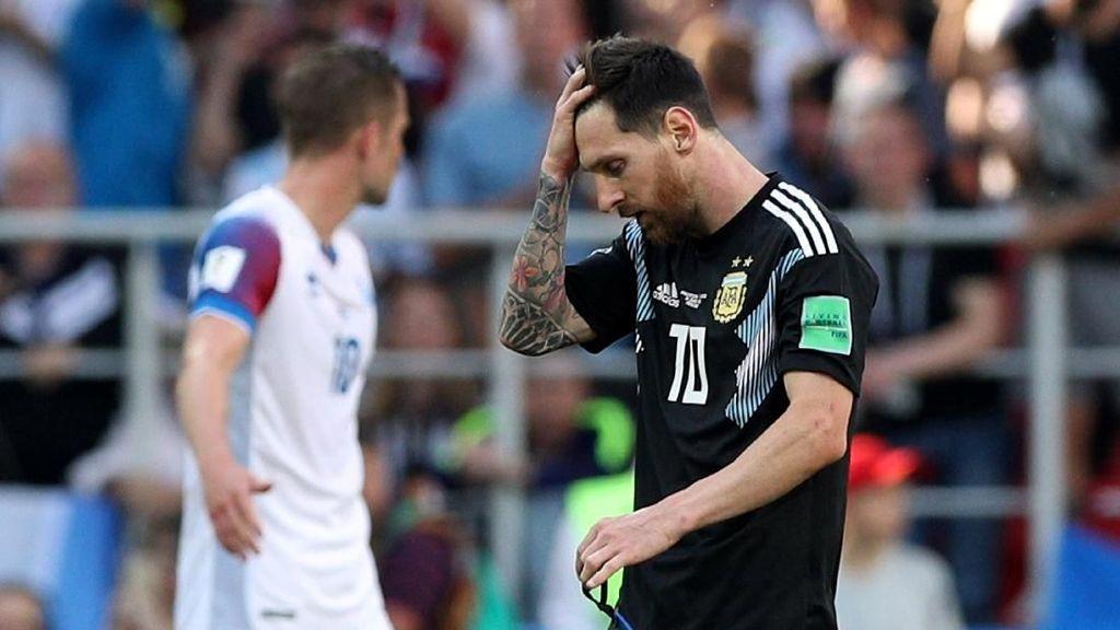 Jangan Salahkan Messi Jika Argentina Kalah!