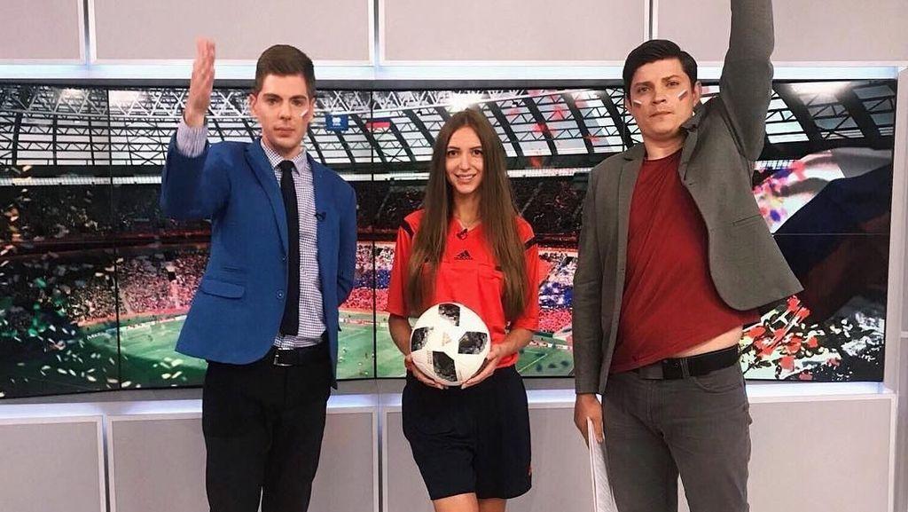 Wih! Intip Gaya Olahraga Ekaterina, Wasit Sepak Bola Terseksi di Rusia