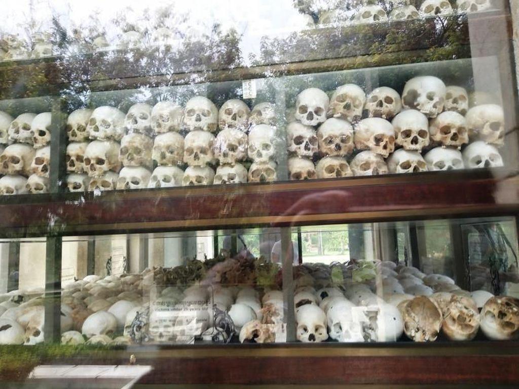 Choeung Ek, Saksi Bisu Kekejaman Rezim Khmer Merah