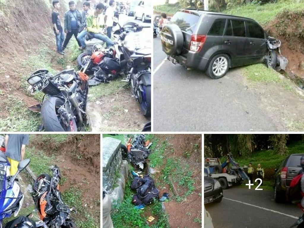 Viral Pemoge Tewas Tabrakan di Sukabumi, Begini Faktanya