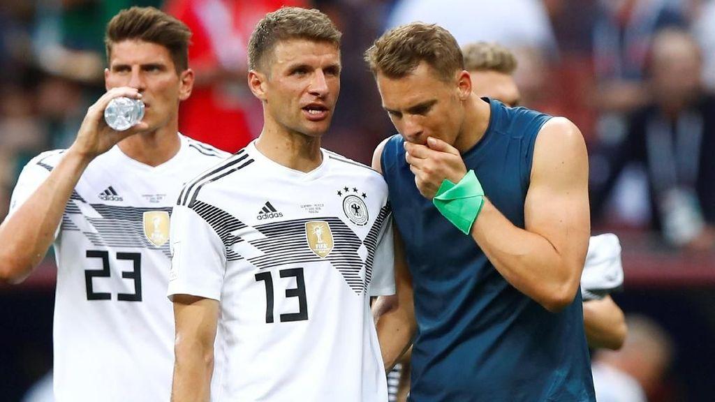 Jerman Tak Perlu Panik Meski Kalah di Laga Pembuka