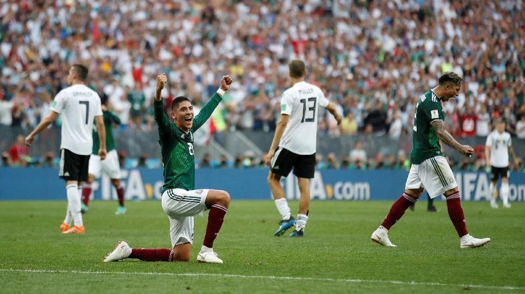 Hasil Pertandingan Piala Dunia 2018: Jerman vs Meksiko Skor 0-1