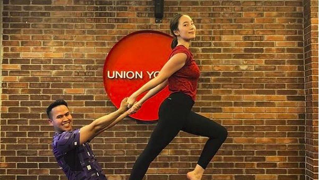 Tenar di Korea, Tatjana Saphira Rupanya Gemar Olahraga Yoga