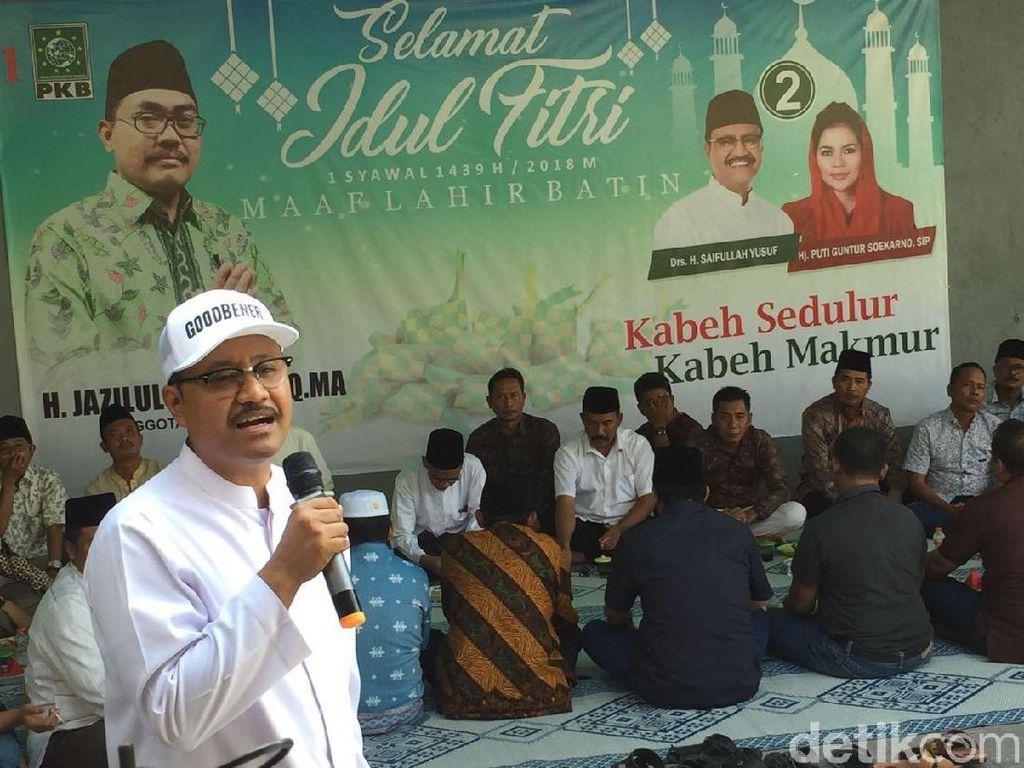 6 Ribu Relawan Pro Jazilul Fawaid Siap Menangkan Gus Ipul-Puti