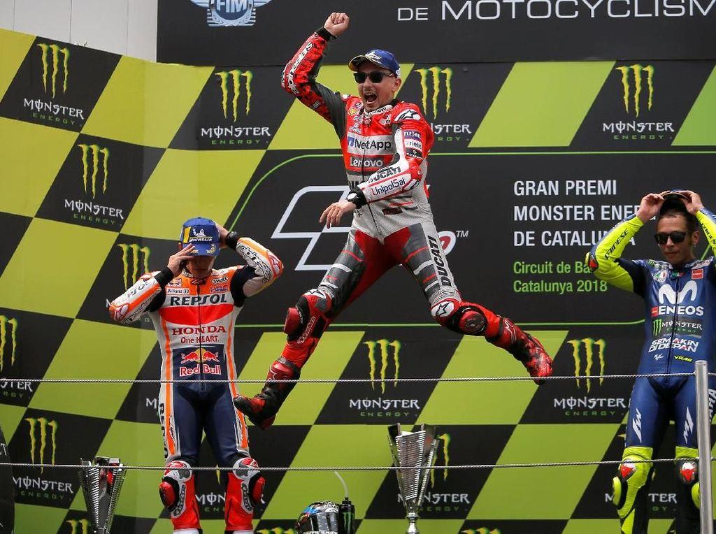 Podium Teratas MotoGP Catalunya Milik Jorge Lorenzo