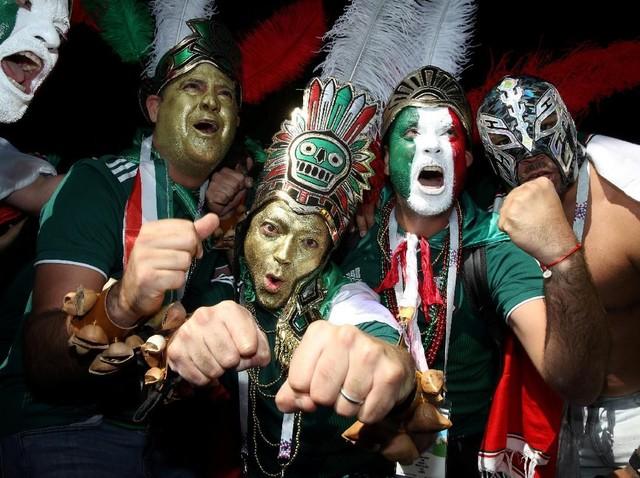 Meksiko Menang, Pendukung Senang