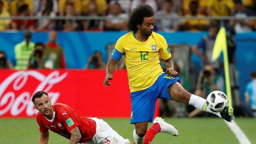 Hasil Pertandingan Piala Dunia 2018: Brasil vs Swiss Skor 1-1
