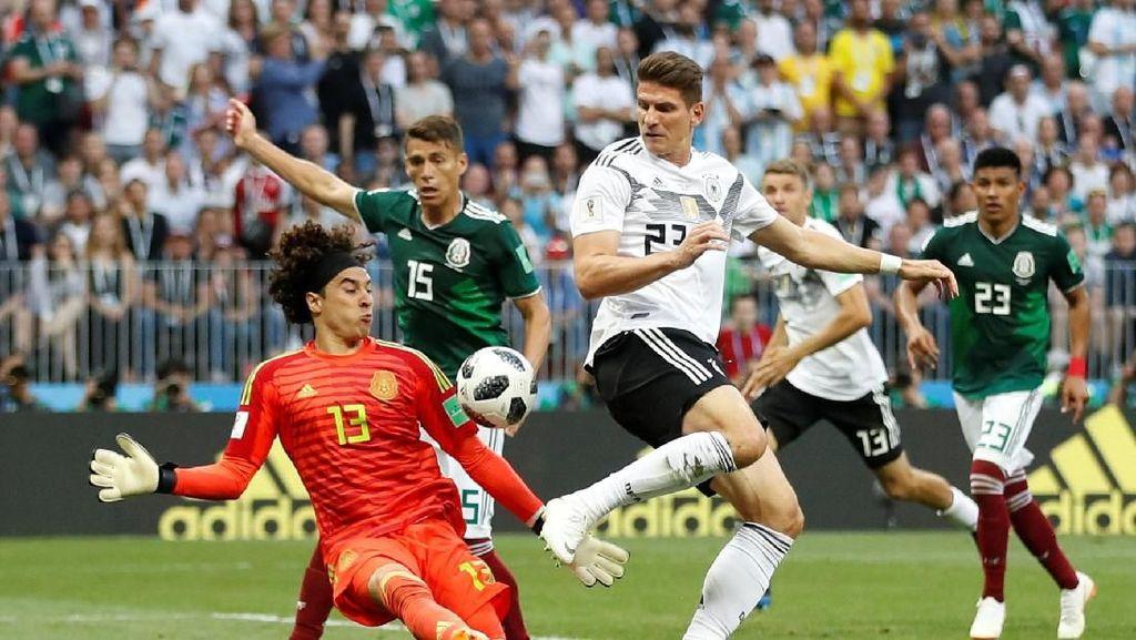 Momen Runtuhnya Tren Bagus Jerman di Laga Pertama Piala Dunia