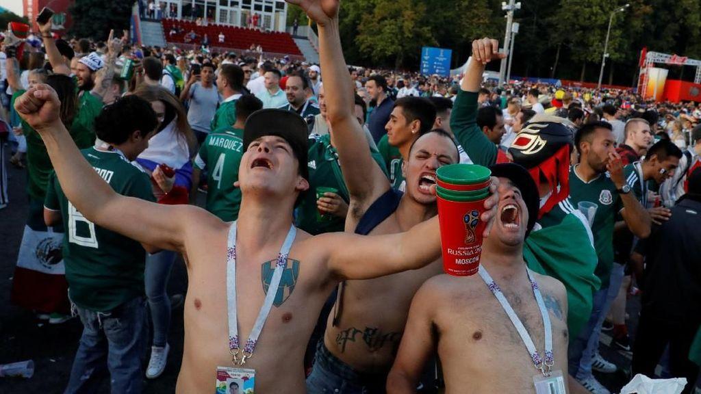 Gol Hirving Lozano pun Mengguncang Meksiko