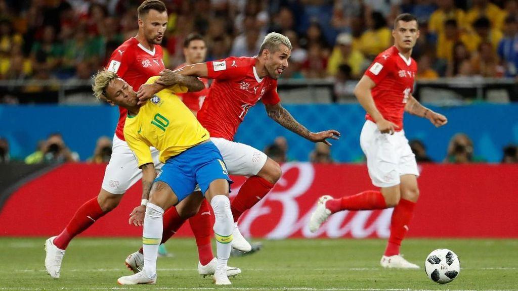 Brasil vs Swiss: Rentetan Tanpa Kemenangan Selecao Berlanjut