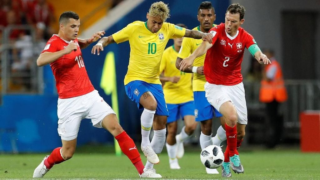 Highlight Babak I Brasil Vs Swiss