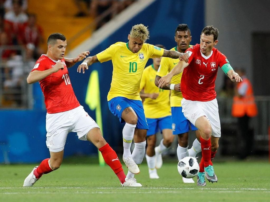 Highlights Babak I Brasil Vs Swiss