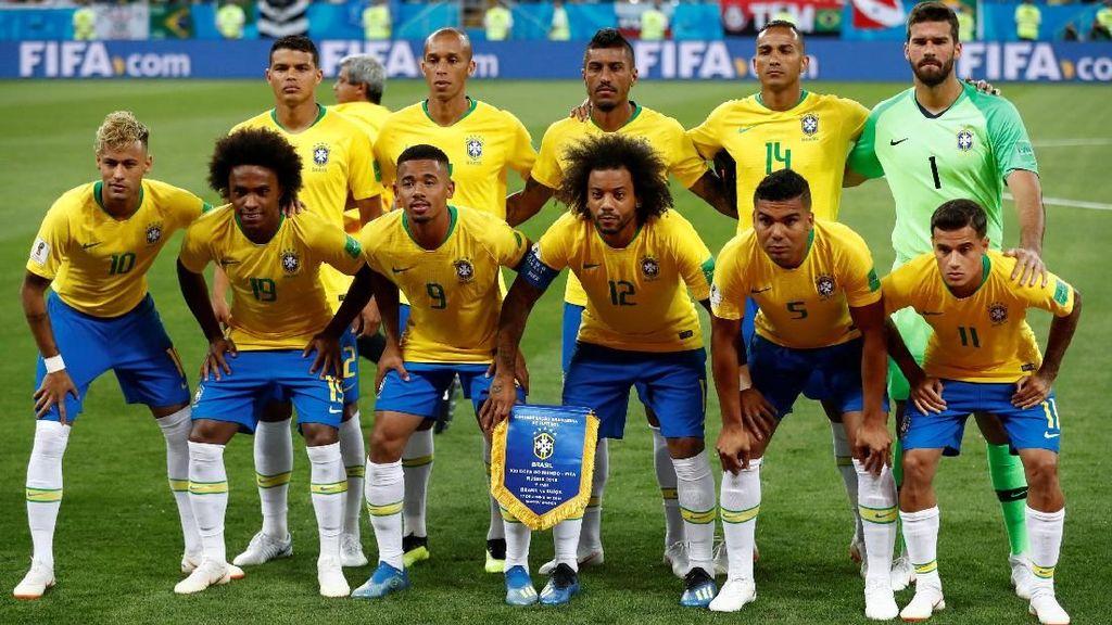 Jadwal Piala Dunia Hari Ini: Brasil vs Kosta Rika