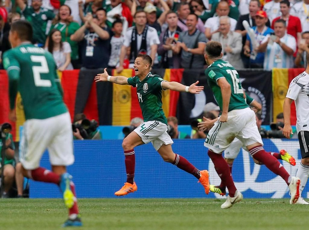 Jangan Sampai Meksiko Cuma Bagus di Satu Laga Piala Dunia 2018