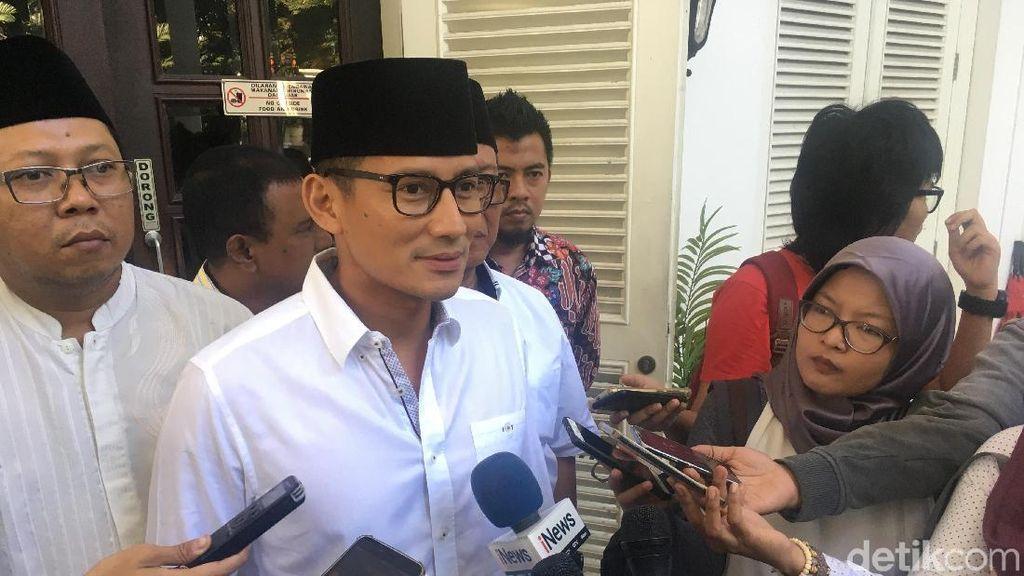 Sandiaga: Erick Thohir Minta Maaf Tiket Asian Games Mahal