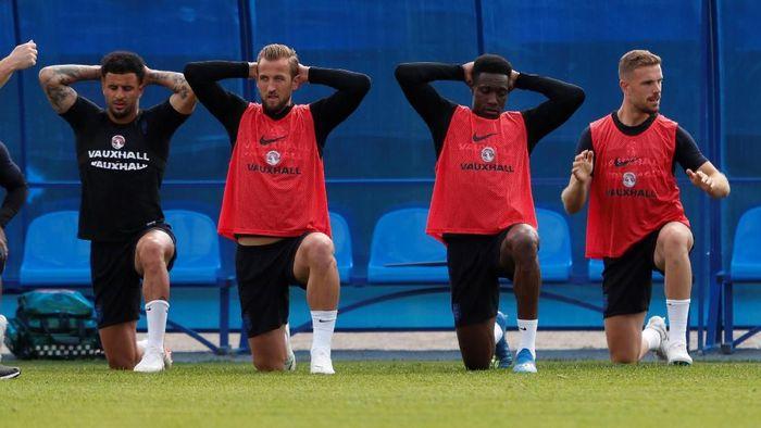 Inggris merasa tenang dan santai di Piala Dunia 2018. (Foto: Lee Smith/Reuters)