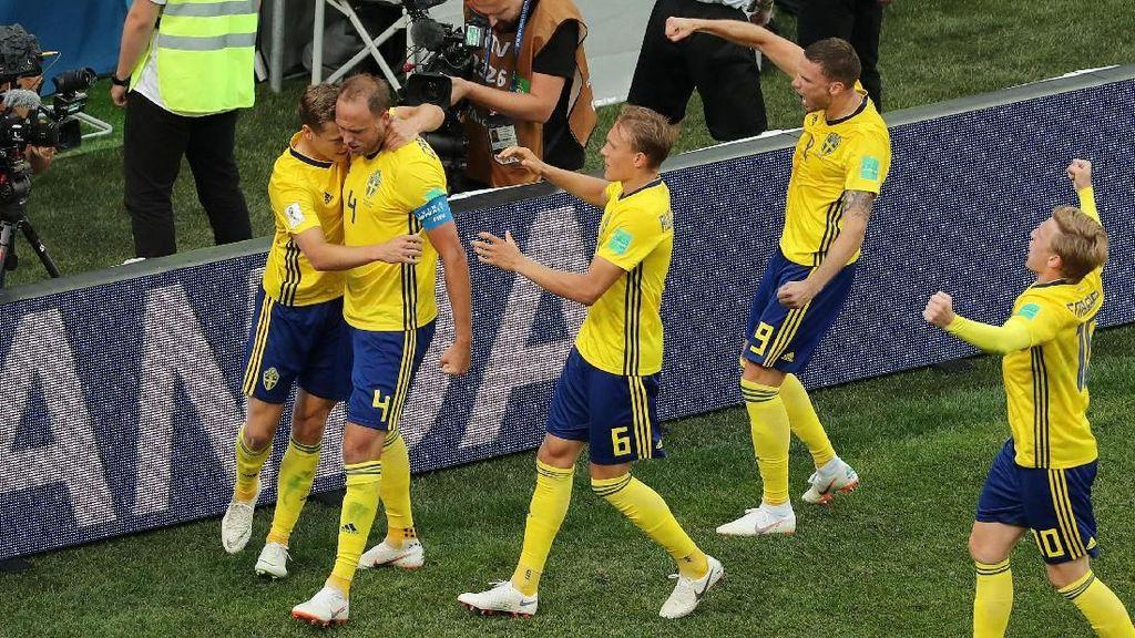 Swedia Menang 1-0 atas Korea Selatan