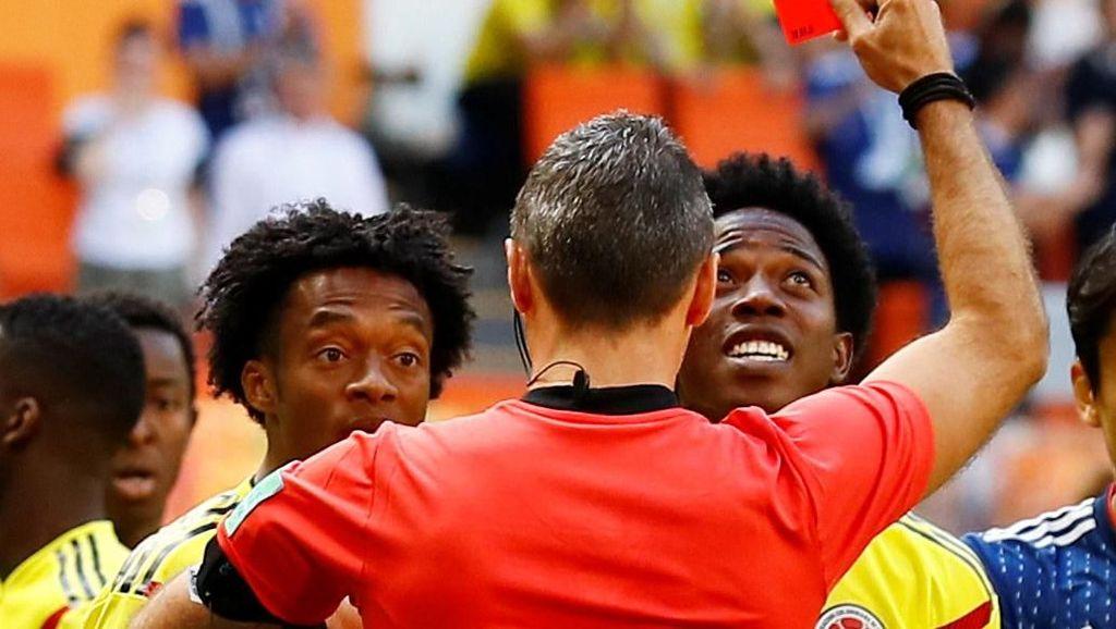 Drama Kartu Merah Pertama di Piala Dunia 2018