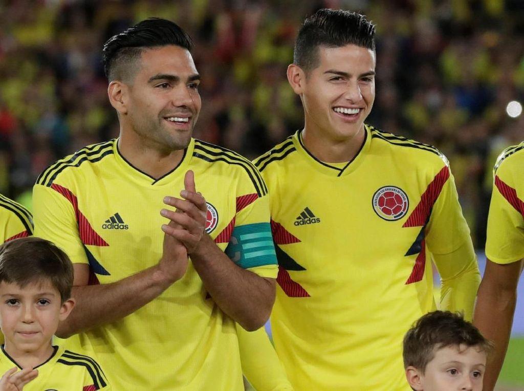 Prediksi Kolombia vs Jepang: Falcao dan James Jadi Penentu