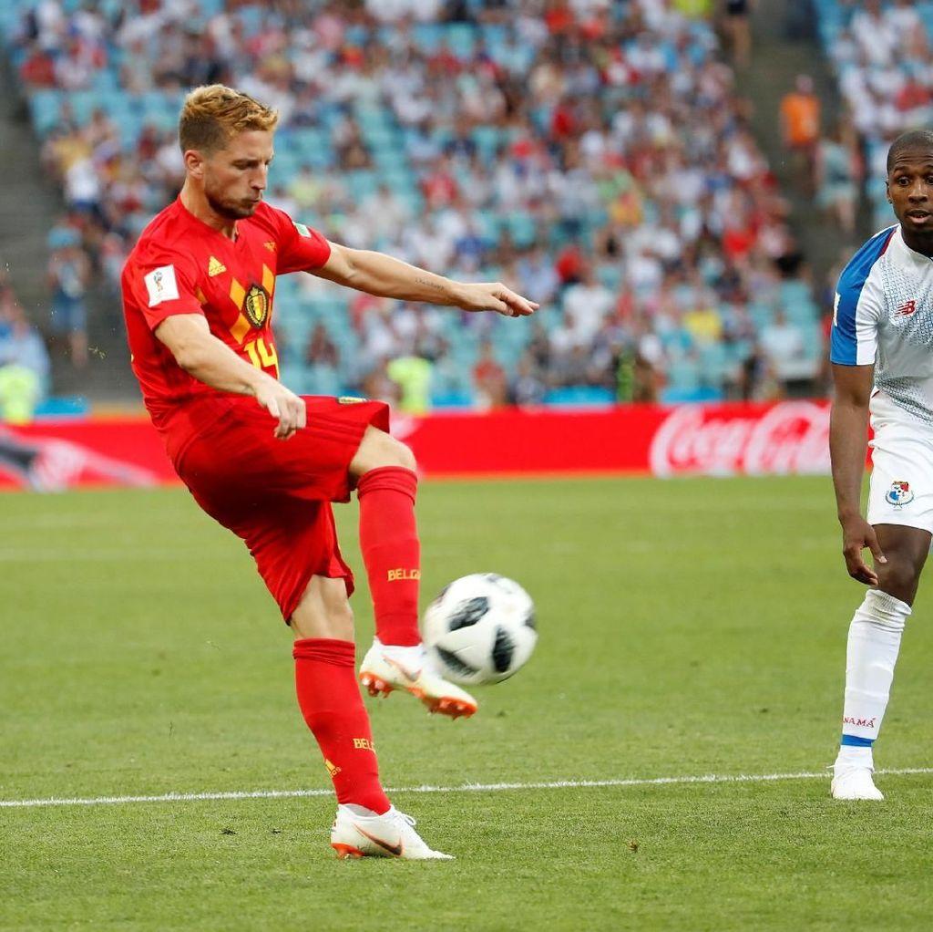 Gol Mertens yang Menenangkan Belgia