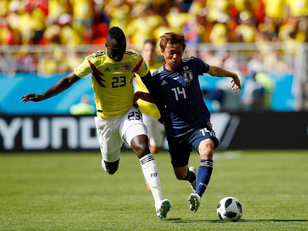 Highlights Babak I Kolombia Vs Jepang
