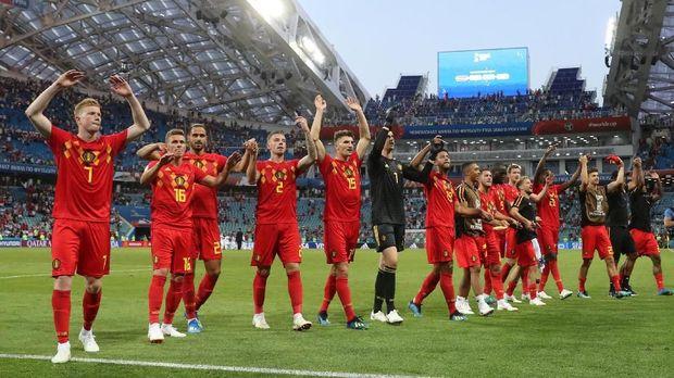 Belgia menang 3-0 atas Panama di laga pertama.