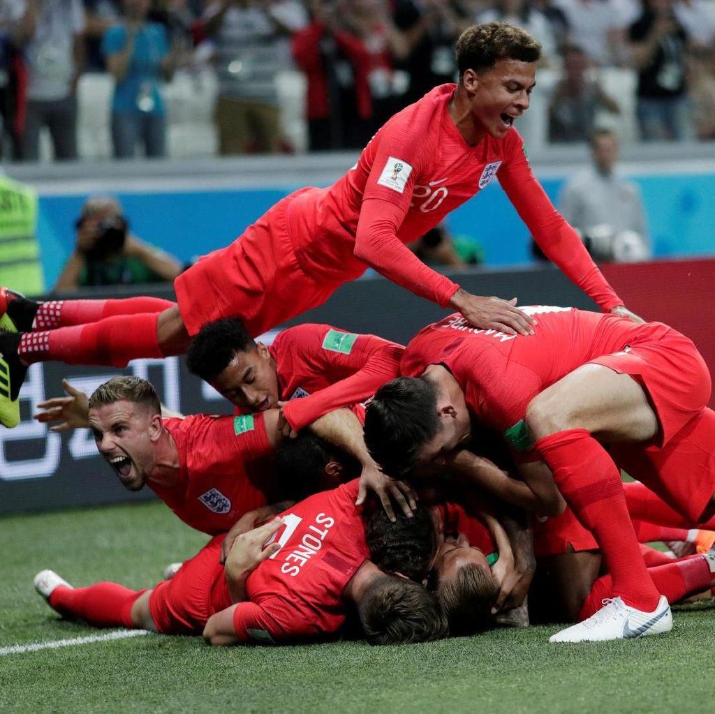 Kesabaran Inggris Akhirnya Mengalahkan Tunisia