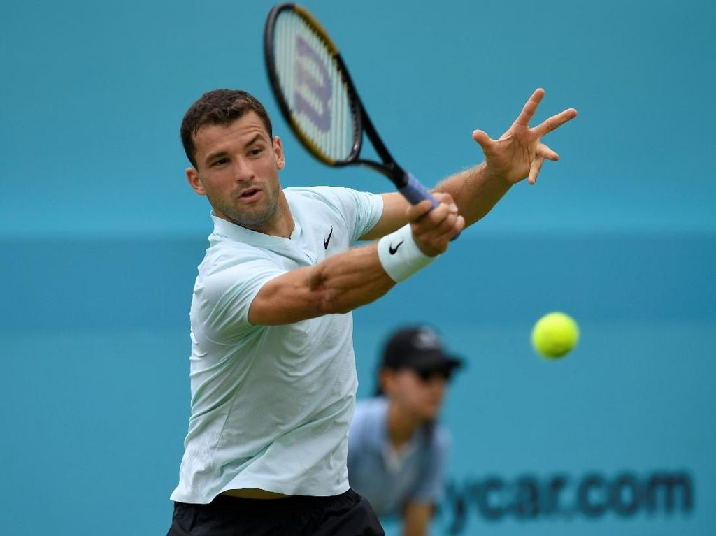 Dimitrov Jumpa Djokovic di Babak kedua