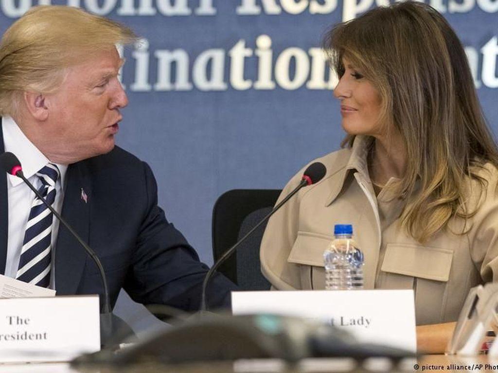 Ketika Melania Trump Menentang Politik Imigrasi Suaminya