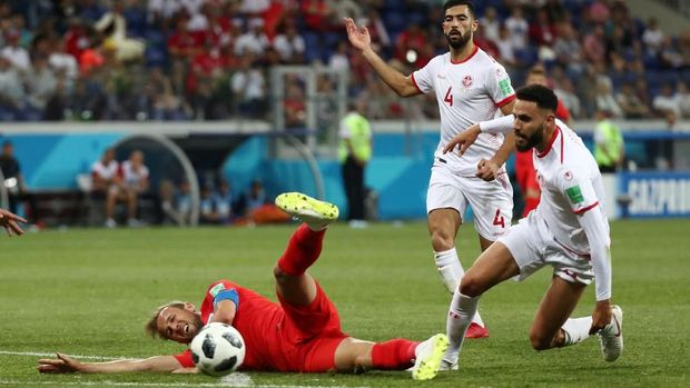 Tunisia menelan kekalahan 1-2 dari Inggris di laga pertama.