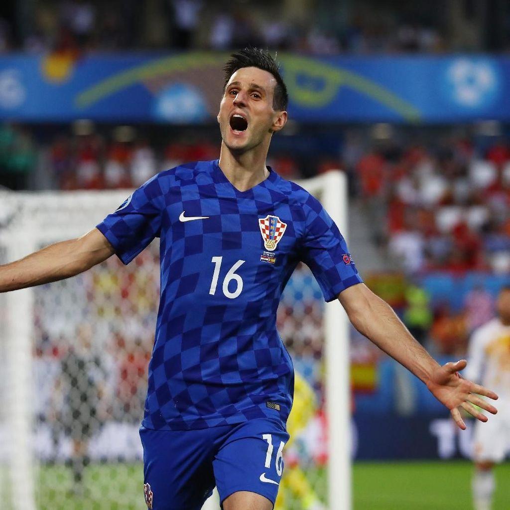 Menolak Dimainkan, Nikola Kalinic Dipulangkan dari Piala Dunia 2018