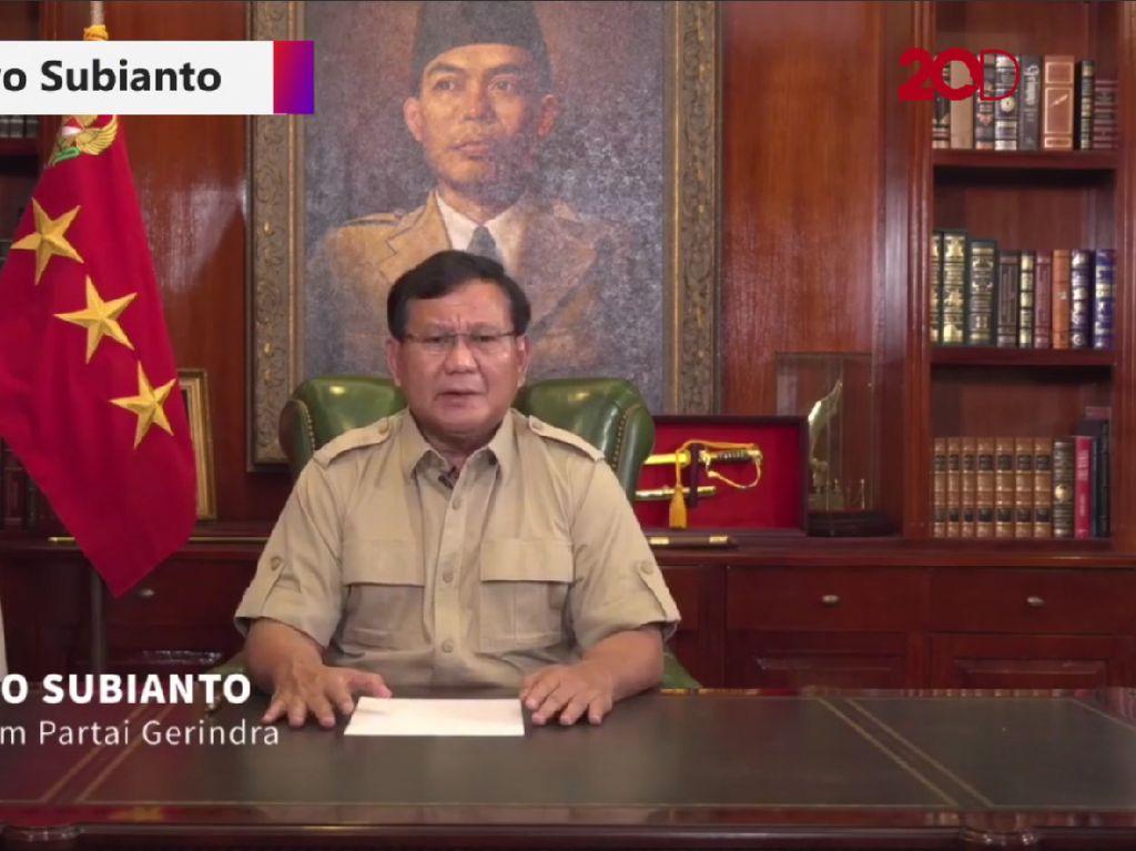 Prabowo Luncurkan Program Galang Dana untuk Perjuangan Politik