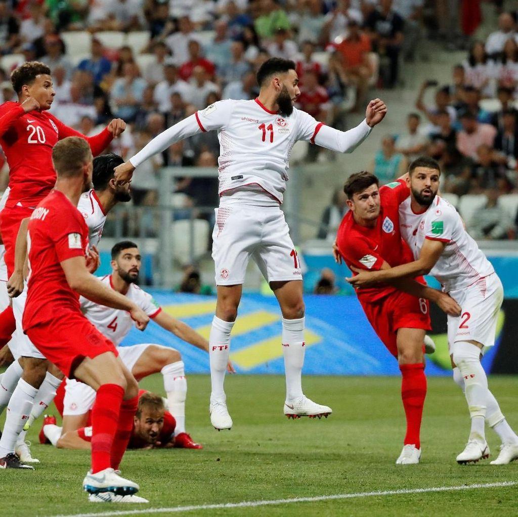 Highlight Babak I Tunisia Vs Inggris