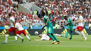 Senegal Ungguli Polandia 1-0 di Babak I