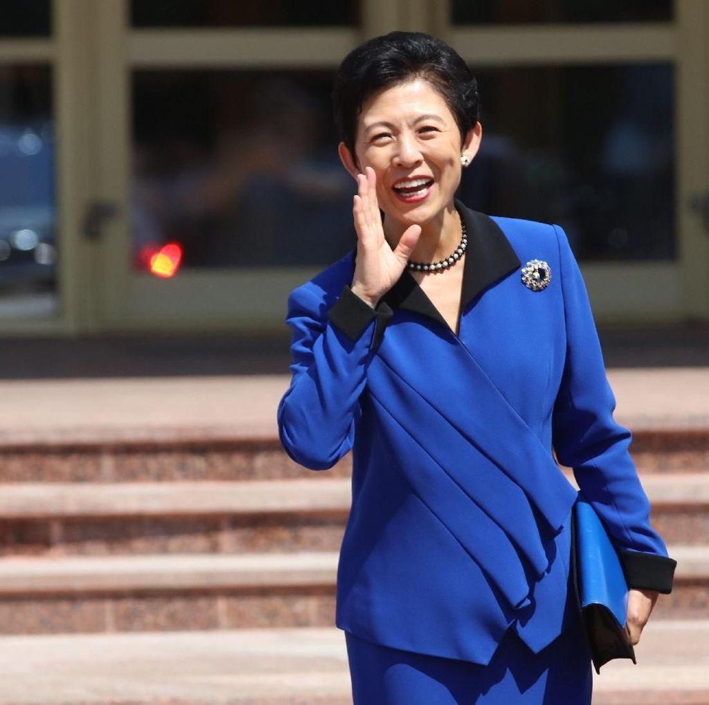 Putri Kerajaan Jepang Suntik Moral Tim Samurai Biru