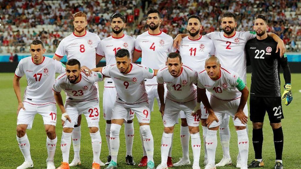 Tunisia Lantunkan Al-Fatihah Jelang Melawan Inggris