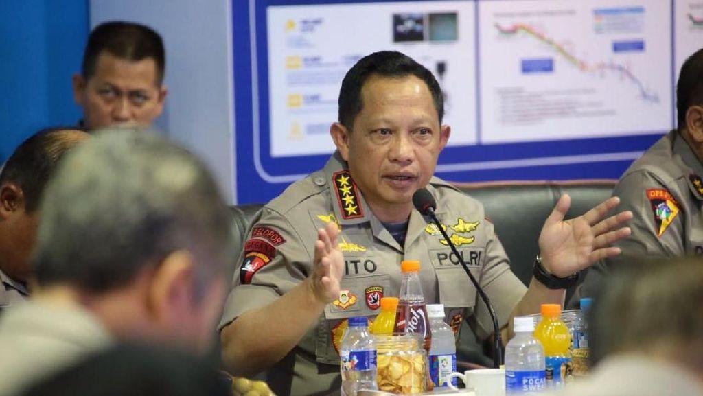 Rapat Komisi III DPR-Kapolri Bahas Persiapan Asian Games 2018