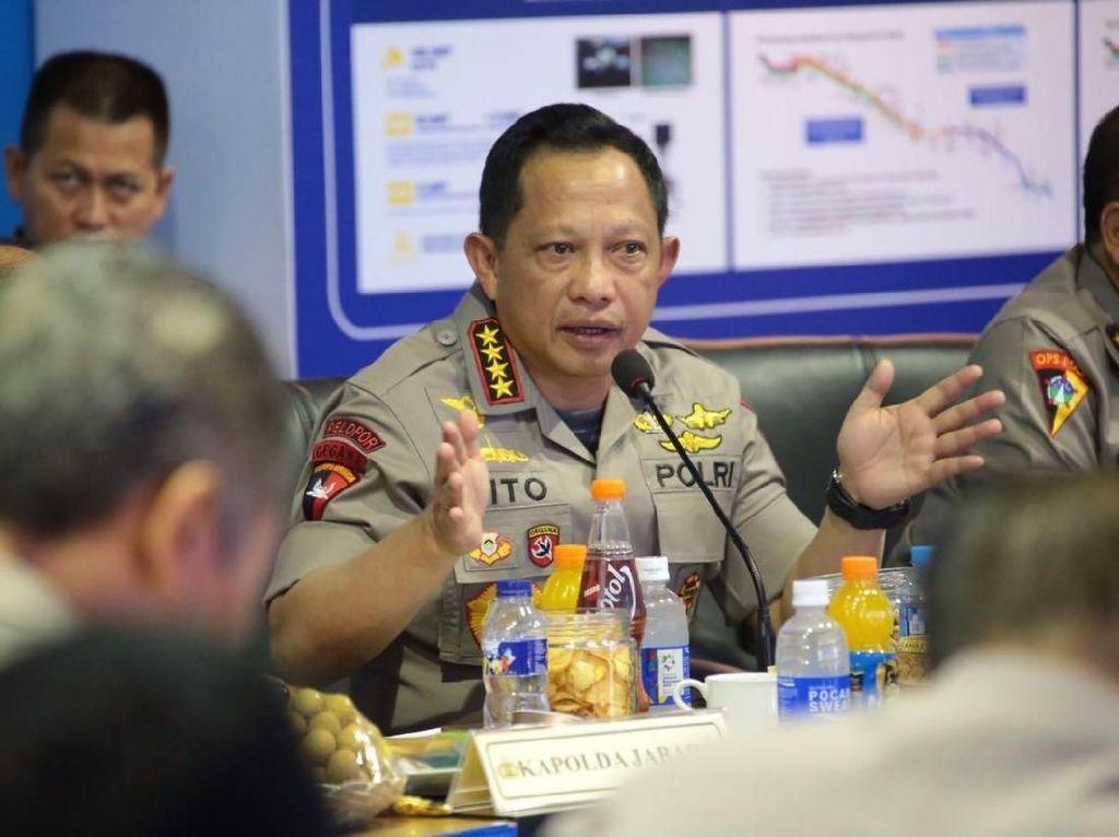 Kapolri Janjikan Promosi Jabatan bagi Humas Polri Berprestasi