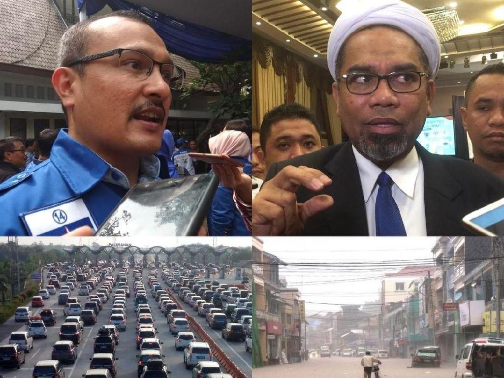 Berita Heboh: Demokrat vs Ngabalin, One Way di Arus Balik