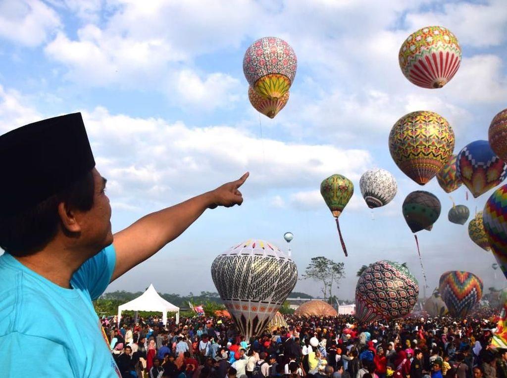 Java Ballon Festival Jadi Ajang Kampanye Keselamatan Penerbangan