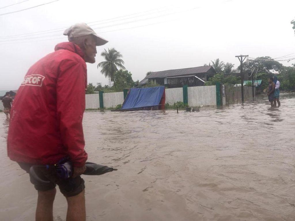 Penampakan Banjir Myanmar yang Tewaskan 11 Orang