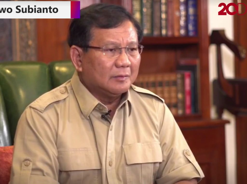Prabowo: Yang Punya Uang Bisa Tentukan Siapa Jadi Presiden