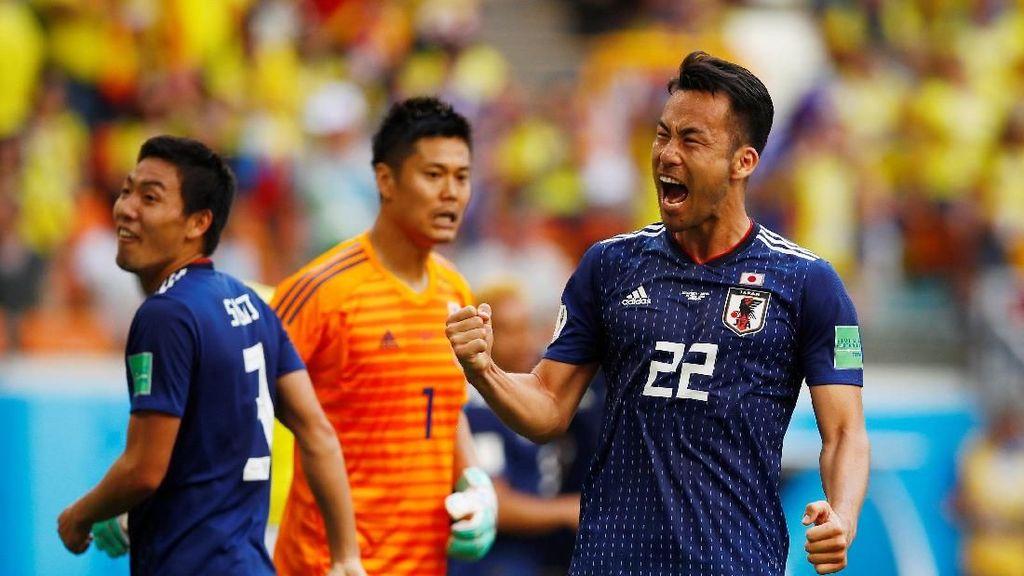 Jepang Tundukkan Kolombia 2-1